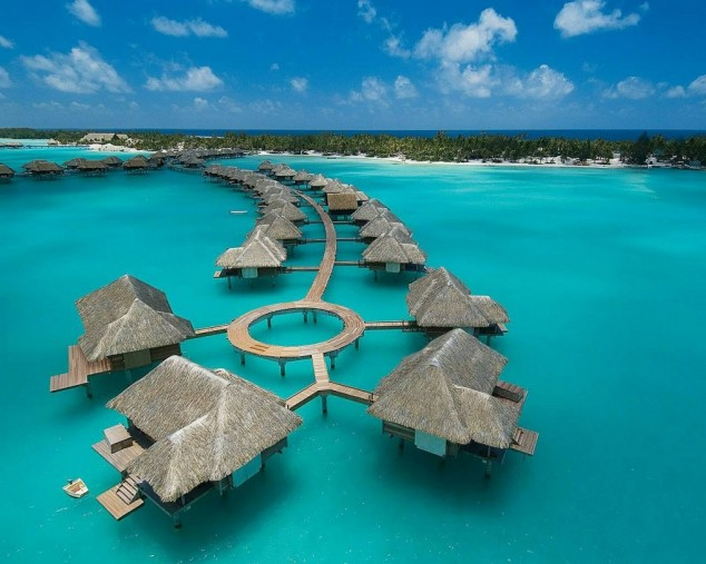 Four Seasons hotel Bora Bora