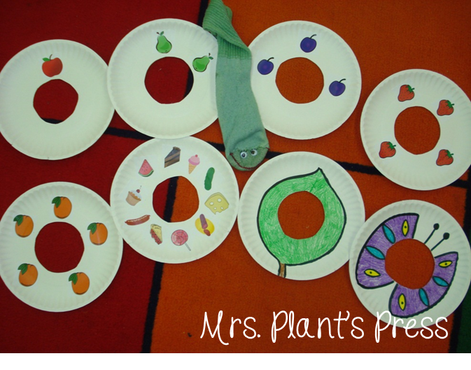 The very hungry caterpillar primary press