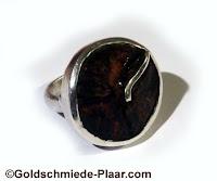 Ring,Silber,Koksnuss