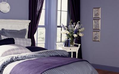 dormitorios lilas