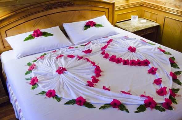 Wedding Night Ideas 14 Fancy Romantic Ideas for Wedding