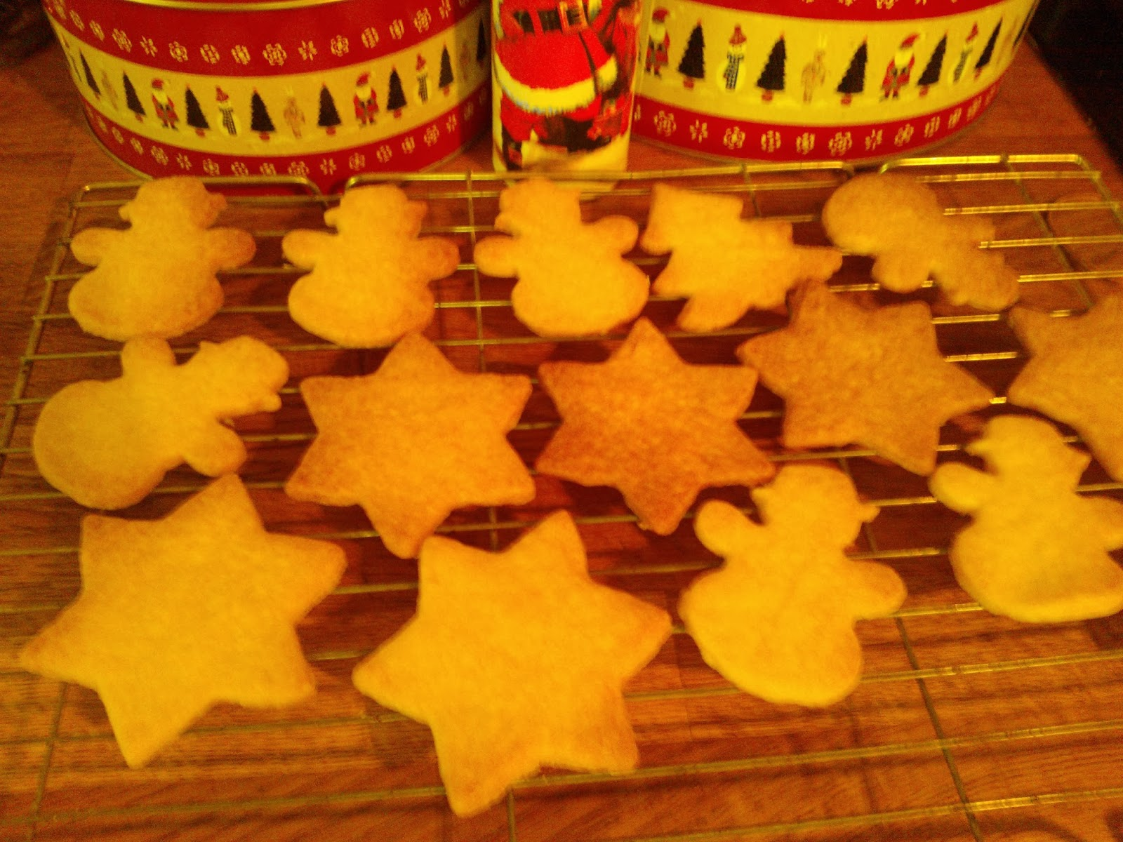 German Christmas Cookies Iced Butter Biscuit Recipe My Kitchen