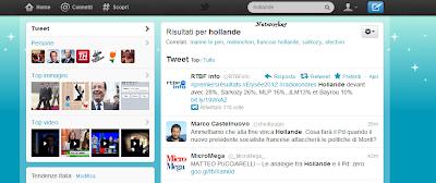 elezioni francia social network