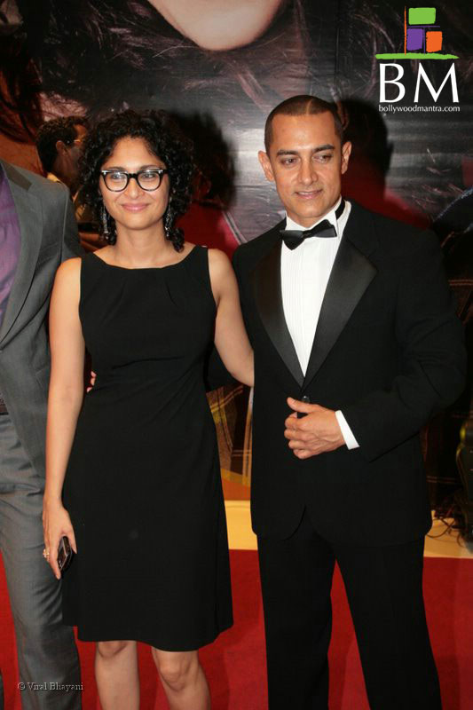 File aamir khan with his wife kiran rao at karan johar s 40th birthday