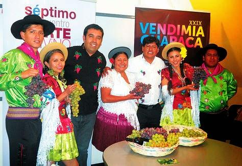 Vendimia chapaca se fusiona con el Encuentro de Arte