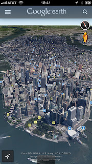 Enjoy 'Street View' with the newly updated Google Earth for iOS devices