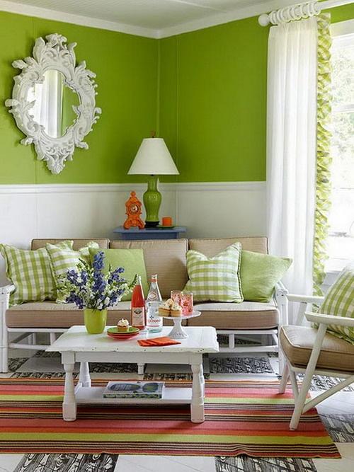 Decoracao De Sala Verde ~ Bricolage e Decoração 11 Ideias para Decorar a Sua Sala em Verde