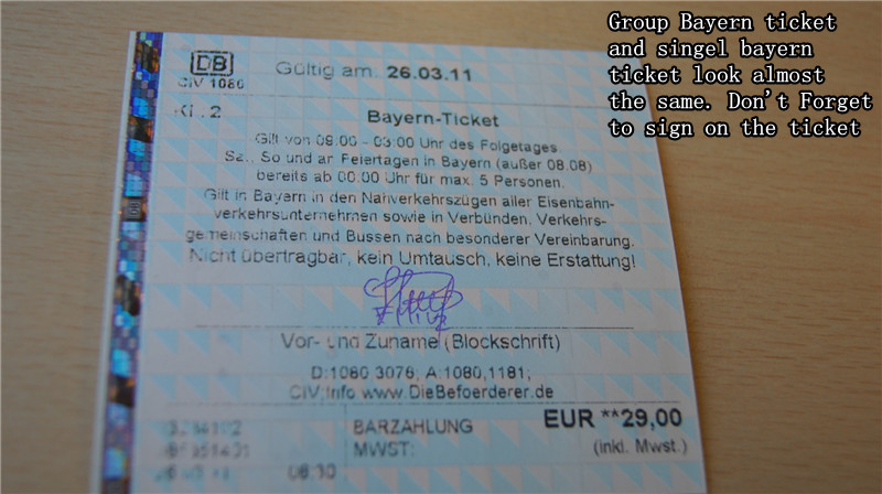nOnaCapsa: Cheap Train Ticket Across Bayern,Germany ...