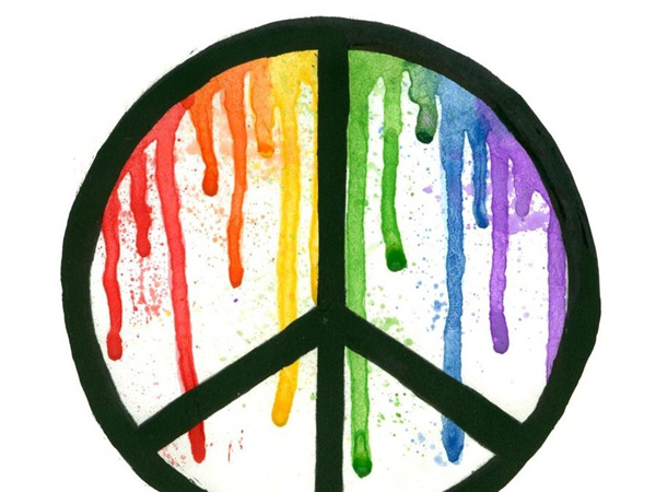 background designs peace sign -#main