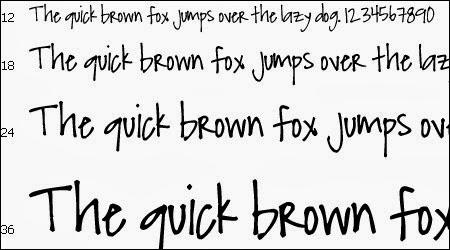 Pretty Handwriting Fonts