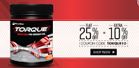 Exclusive deal on MuscleBlaze Torque Pre Workout Fuel. Get Extra 10% Off on Flat 25% Off