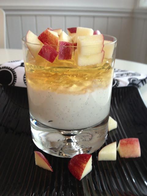 Epledessert med yoghurt – En sunn avslutning