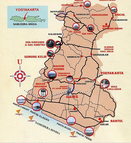 Peta Wisata Kulon Progo