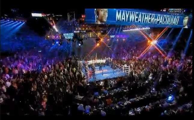 Mayweather Jr-Manny Pacquiao fight