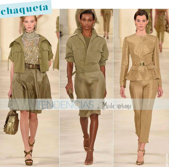Chaqueta de moda primavera 2015