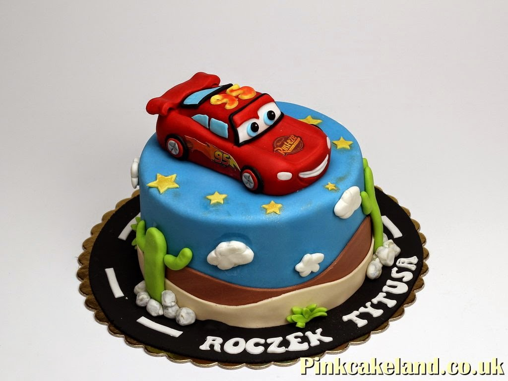 Ligtning McQueen Birthday Cake Ideas Childrens Birthday Cakes in