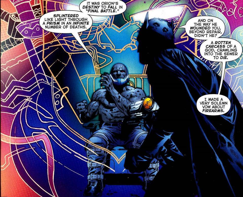 Batman y Darkseid