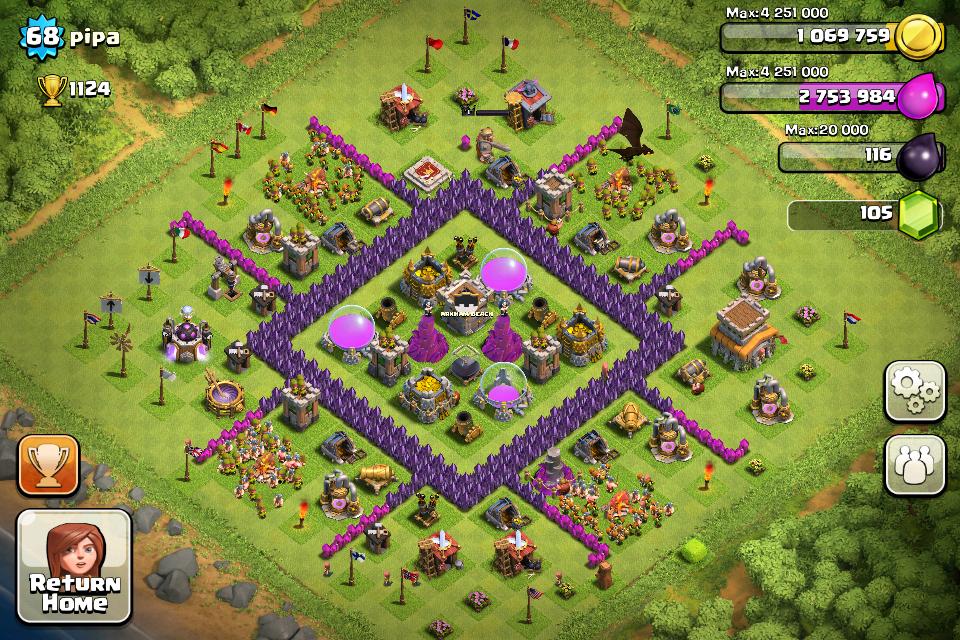 farming mode clash of clans