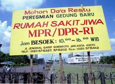 Gambar Lucu Gedung DPR