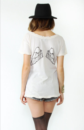 Hells Angels infringing shirt by Wildfox