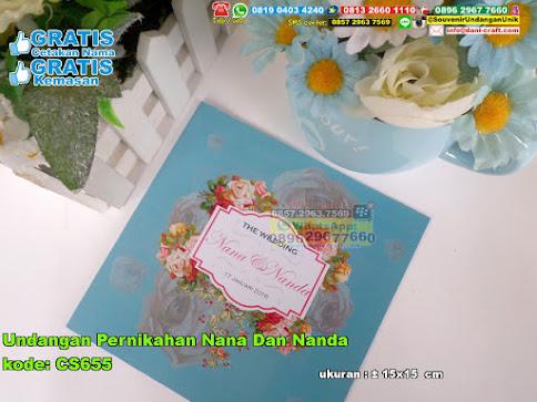 Undangan Pernikahan Nana Dan Nanda