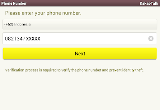 KakaoTalk PC Register