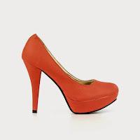 Pantofi dama Efrat rosu somon ( )