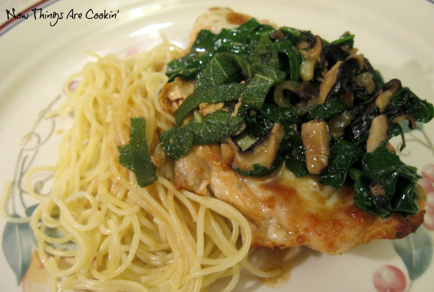 chicken saltimbocca is one of those things i tried to make years ago ...