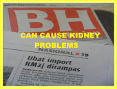 WARNING Can Cause kidney problems,'import products' Contact BPFK-KKM 03-7883 5400 www.bpfk.gov,my