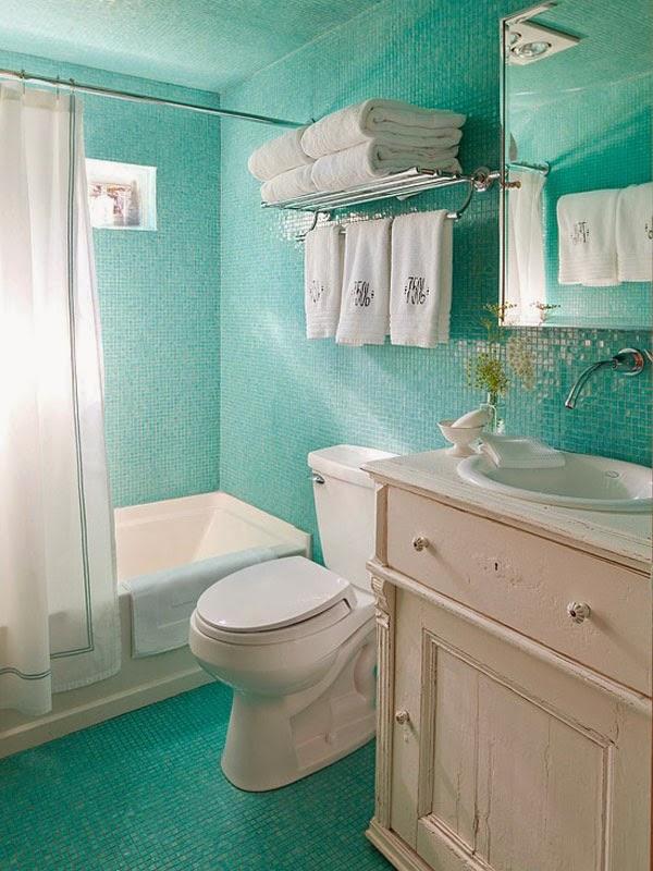 decorar um banheiro:Como Decorar um banheiro pequeno – Simples – Toda Atual