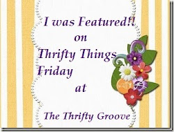 I was Featured on Thrifty Things on September 15th