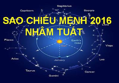 Sao Chieu Menh Nham Tuat