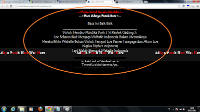 Hacker Indonesia TAPI Merusak Website Indonesia