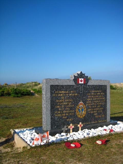 War memorial Juno Beach, France.
