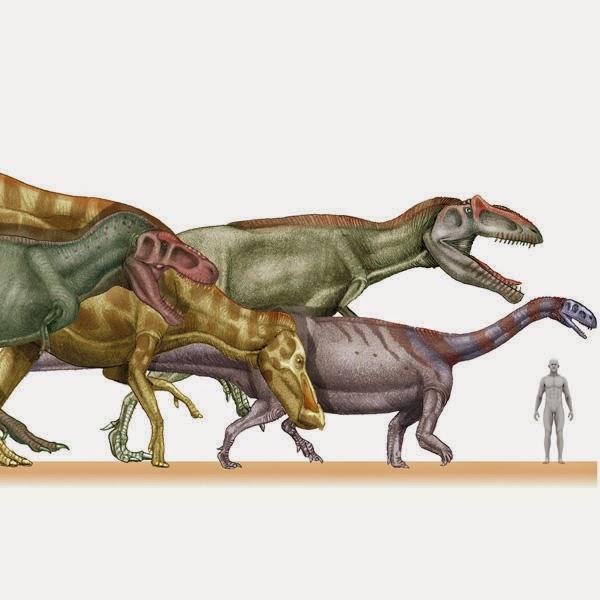 Dinosaurios a escala