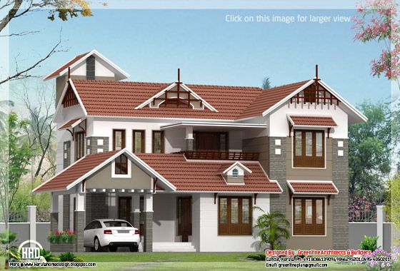 Kerala house plan