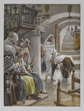 Jesus Healing the Crippled Woman