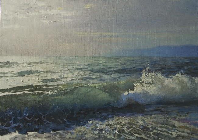 Морские пейзажи автора: