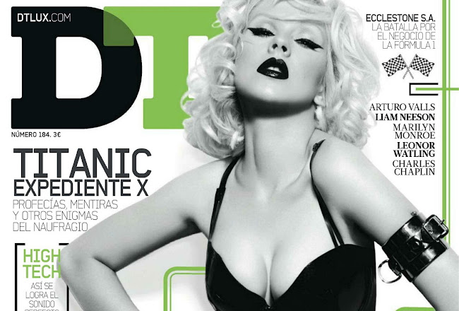 Christina Aguilera cover of DT Magazine Spain, April 2012 Issue