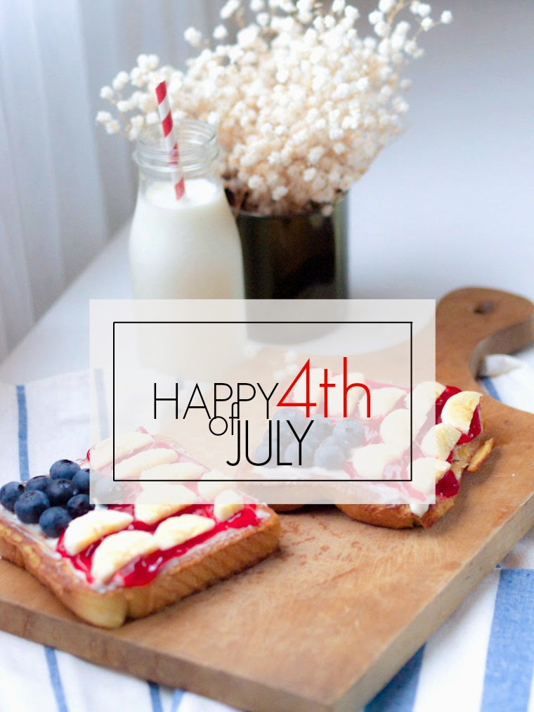 bittersweetcolours, 4th of july, news, breakfast