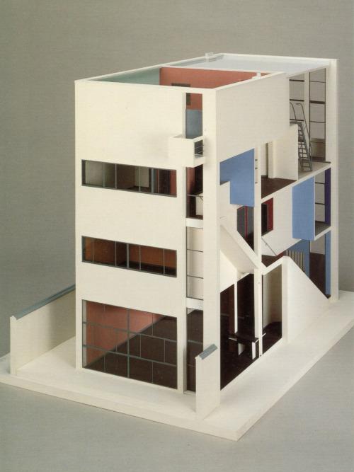 Hoolawhoop maison guiette by le corbusier 1926 for Model architecture maison