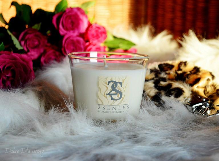 Świeca do masażu Bergamotka i werbena