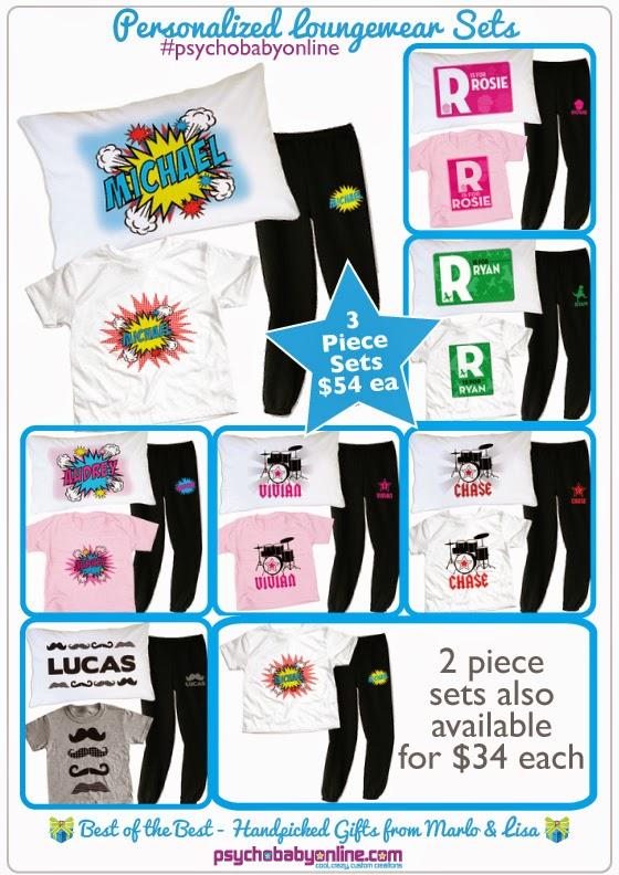 Personalized Loungewear for Kids
