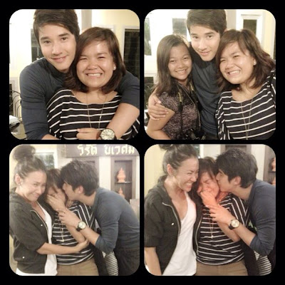 Mario Maurer with Suddenly It's Magic staff