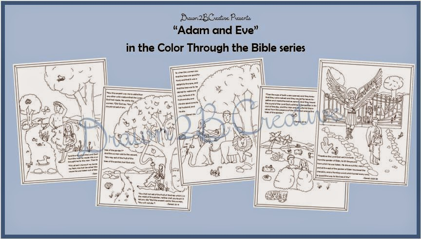 Adam And Eve Coloring Pages With Scripture
