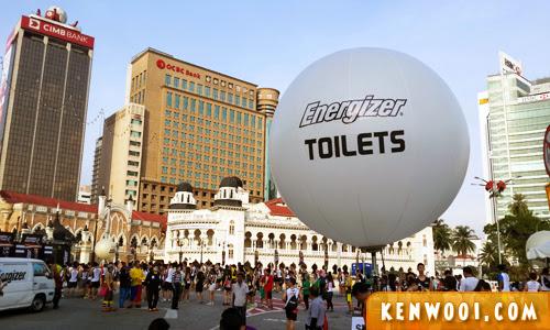 energizer race toilets