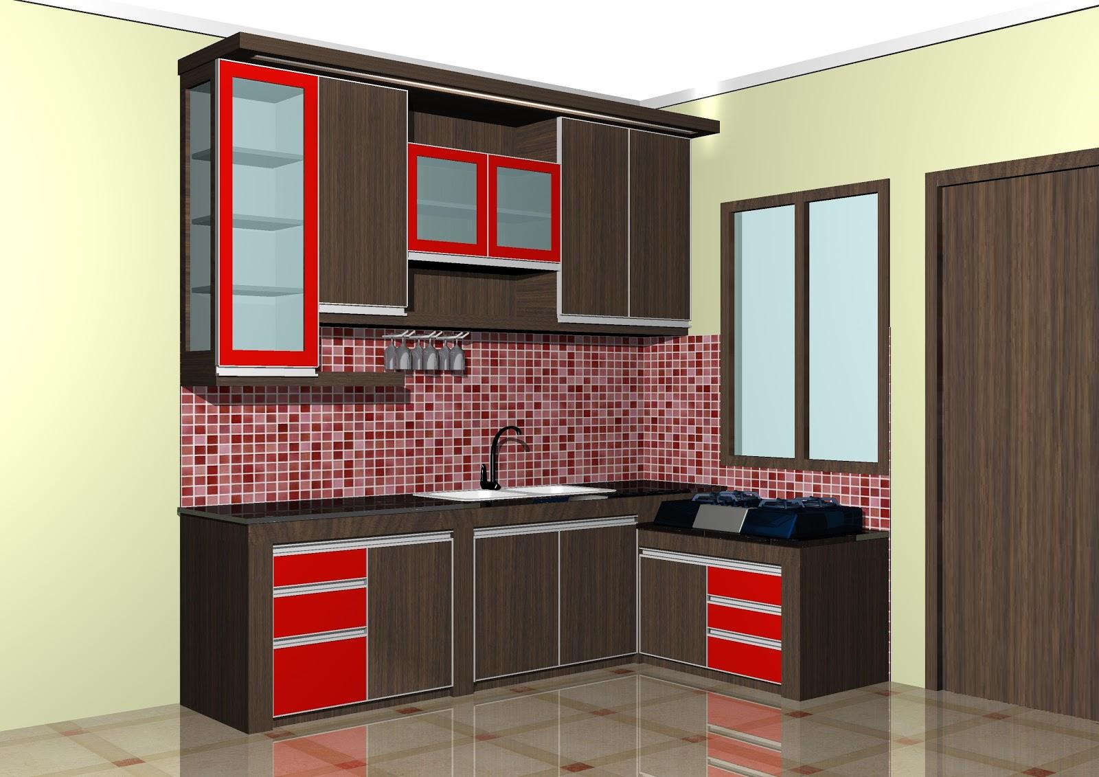 Fugasta Multi Karya Kitchen set dapur Letter L
