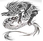 Hay gran variedad de diseños de tatuaje, algunos incluso han connotaciones . dragon tatoo shsv