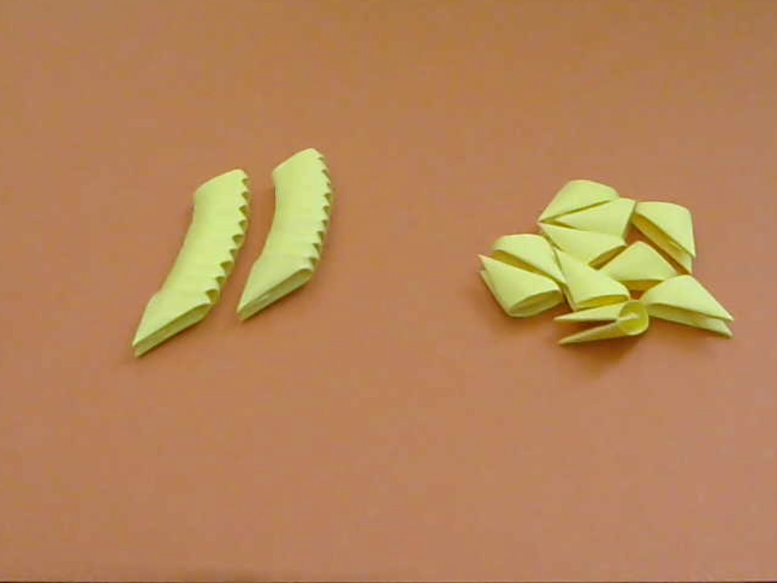 Razcapapercraft How To Make 3D Origami Pieces
