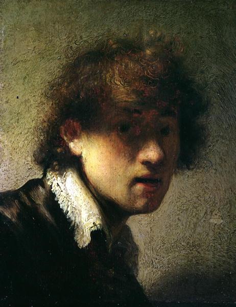 Rembrandt Van Rijn Self Portrait 1629 Oils & Brain Bits:...